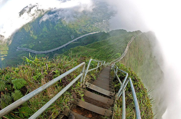Top 29 Hawaii-Haiku Stairs-Photo by Mark Payton