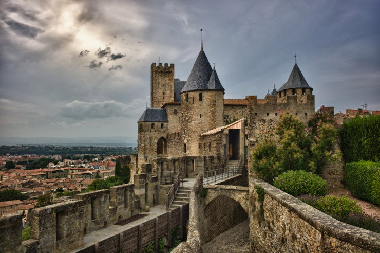 Top Castles-Carcassonne