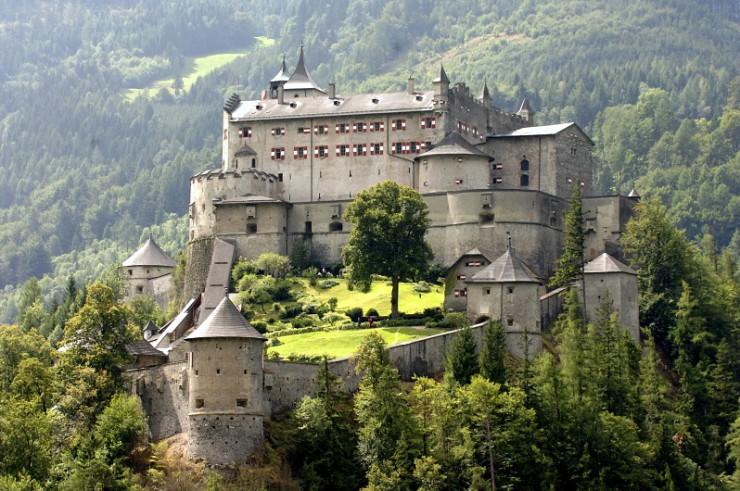 Top Castles-Hohenwerfen