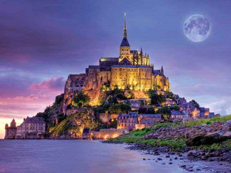 Top Castles-Mont Saint-Michel
