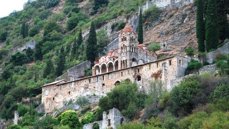 Top Castles-Mystras