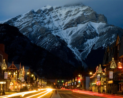 Banff Avenue – the Heart of the Beautiful Town in Canada