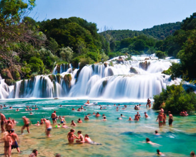 Cascading Waterfalls and Numerous Activities in Krka National Park, Croatia