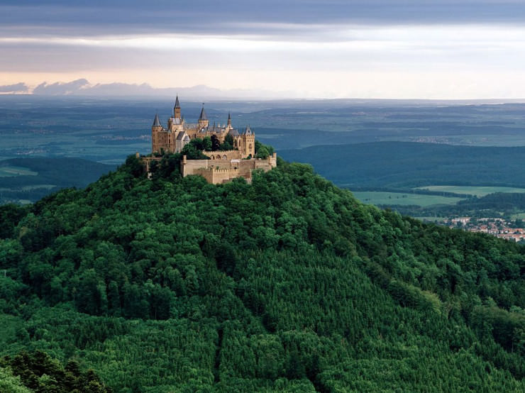 Top 10 Castles-Hohenzollern Castle-Photo by Berthold Steinhilber