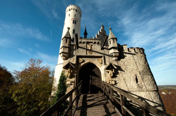 Top 10 Castles-Lichtenstein Castle-Photo by Peter BABILOTTE