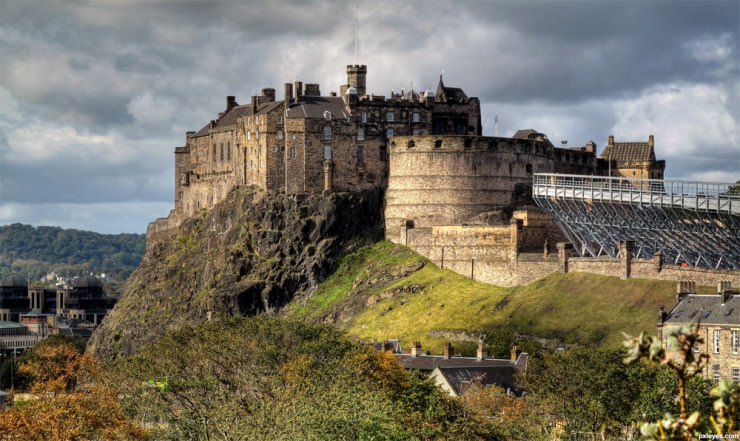 Top 10 Edinburgh-Castle