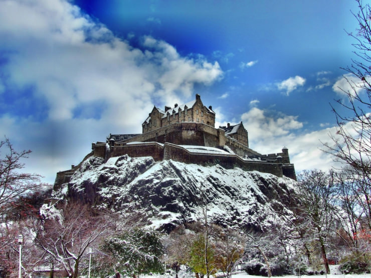 Top 10 Edinburgh-Castle-Photo by Johnny Anderson