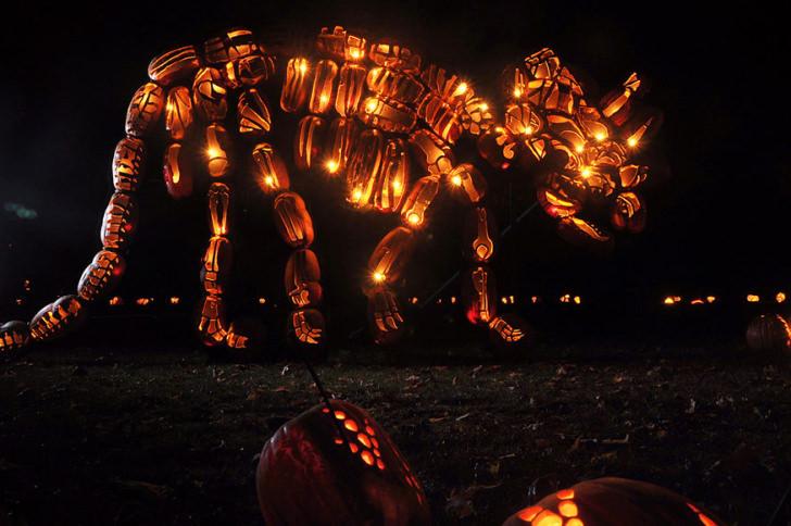 Spooky Pumpkins' Ball in Sleepy Hollow, New York, USA