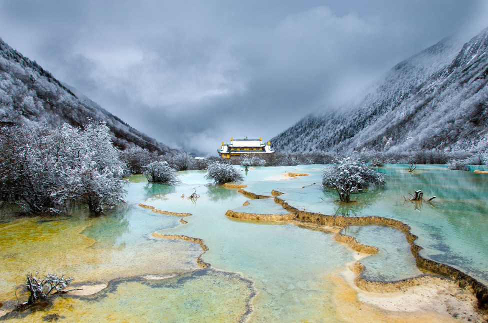 Huanglong – Unique Yellow Dragon Pools in China | Places ...