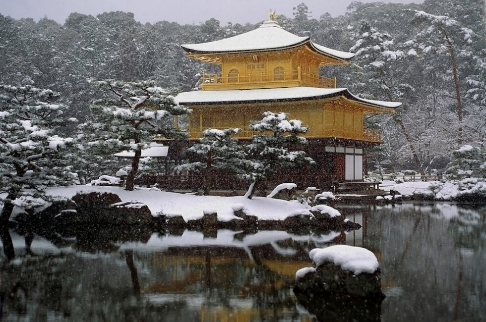 the temple of the golden pavilion in japan places to see. Black Bedroom Furniture Sets. Home Design Ideas