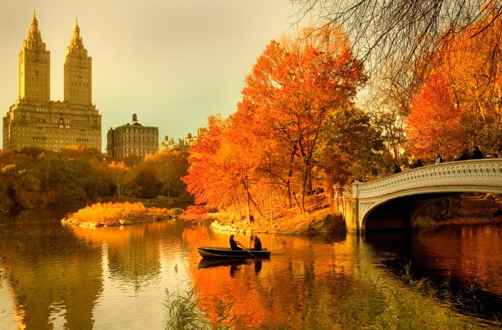 Top 10 Central Park-Boating