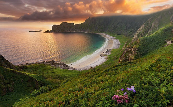 Hoyvika – the Most Beautiful Beach in Andøya, Norway