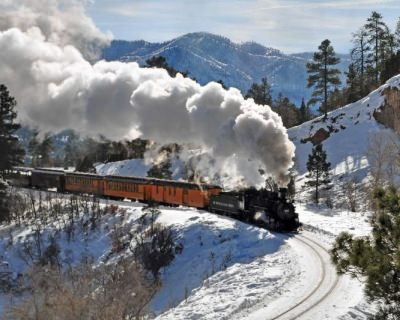 Celebrate Christmas on the Polar Express in Durango, USA