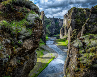 Fjaðrárgljúfur – One of the Most Beautiful Canyons in the World, Iceland