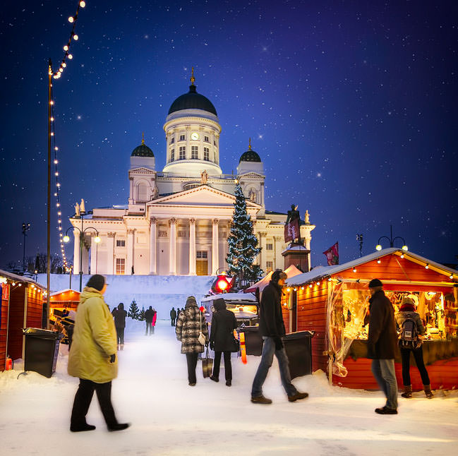 Helsinki - a Great Choice to Visit This Christmas, Finland