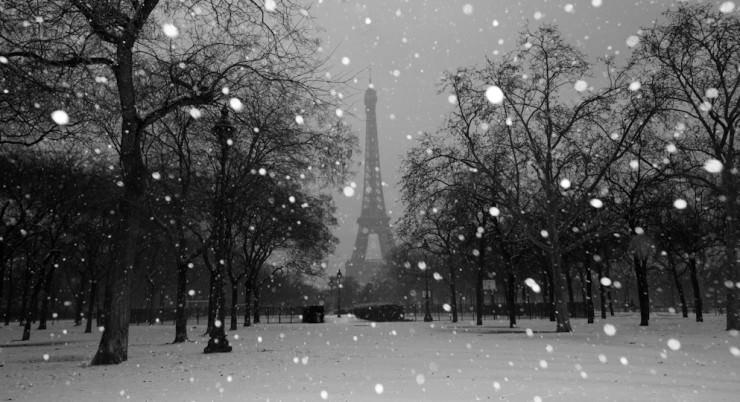Paris in Winter-Photo by Jennifer Gerrardi