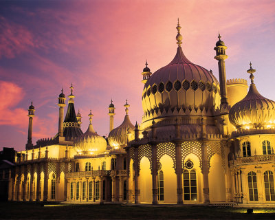 The Royal Pavilion – an Unexpected Piece in England