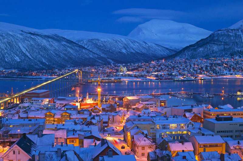 Image result for Real City of Tromso (Norway)  pics