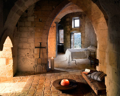 Sextantio – a Unique Hotel in Ancient Caves in Matera, Italy