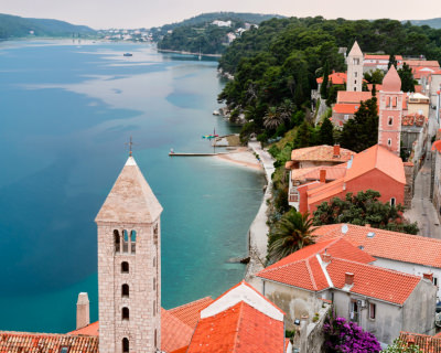 Rab – a Beautiful Holiday Destination in the Adriatic Sea, Croatia