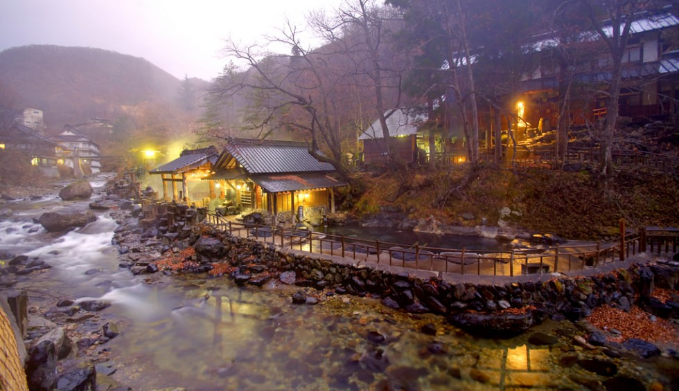 Takaragawa an ancient hot spring onsen in japan places to see in
