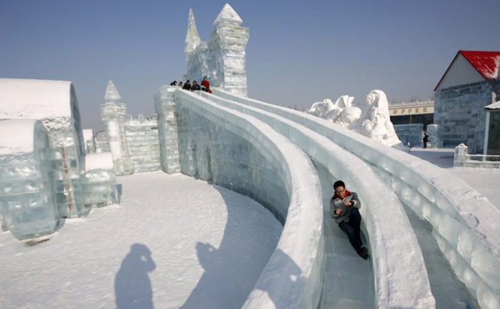Visit the Biggest Ice and Snow Festival in Harbin, China