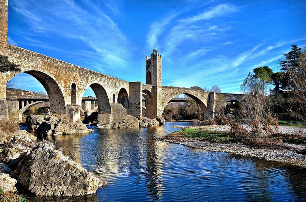 Besalu The Most Picturesque Medieval Town In Spain Places To See In Your Lifetime