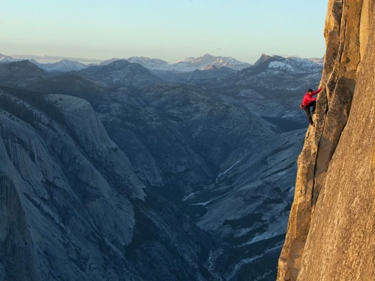 Half Dome-Photo by Jimmy Chin