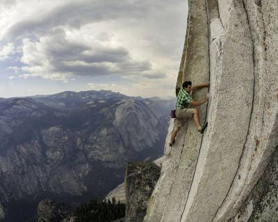 Free Rope Climbing Half Dome in Yosemite, USA