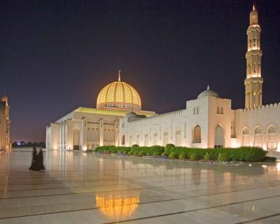 Visit Sumptuous Sultan Qaboos Mosque in Oman