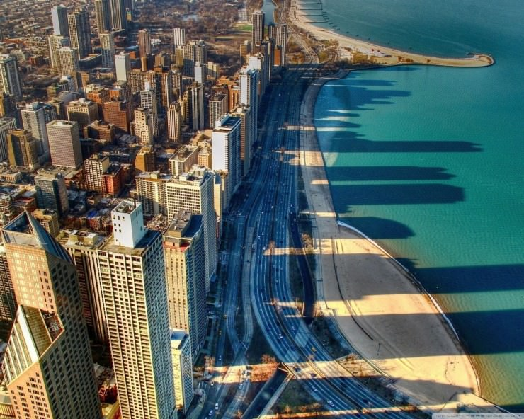 Top 10 City Beaches-Chicago