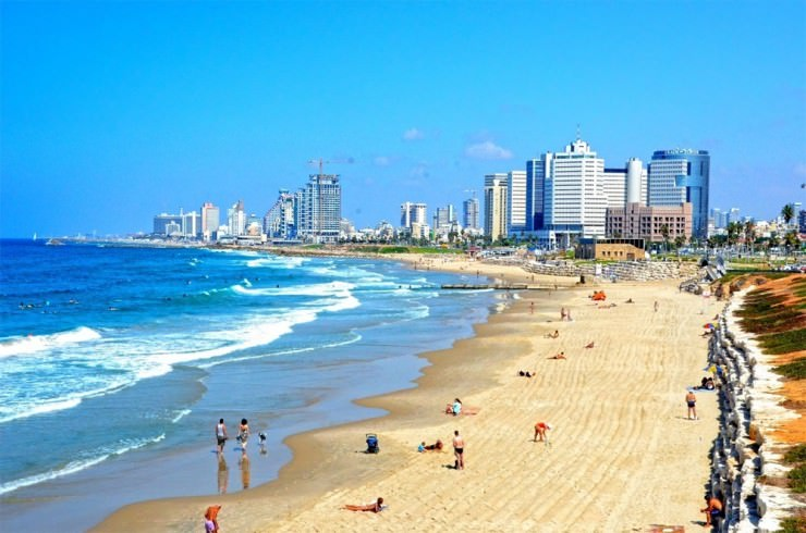 Top 10 City Beaches-Tel Aviv