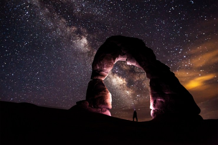Top 10 Stars-Natural Bridges-Photo by Jacob W Frank