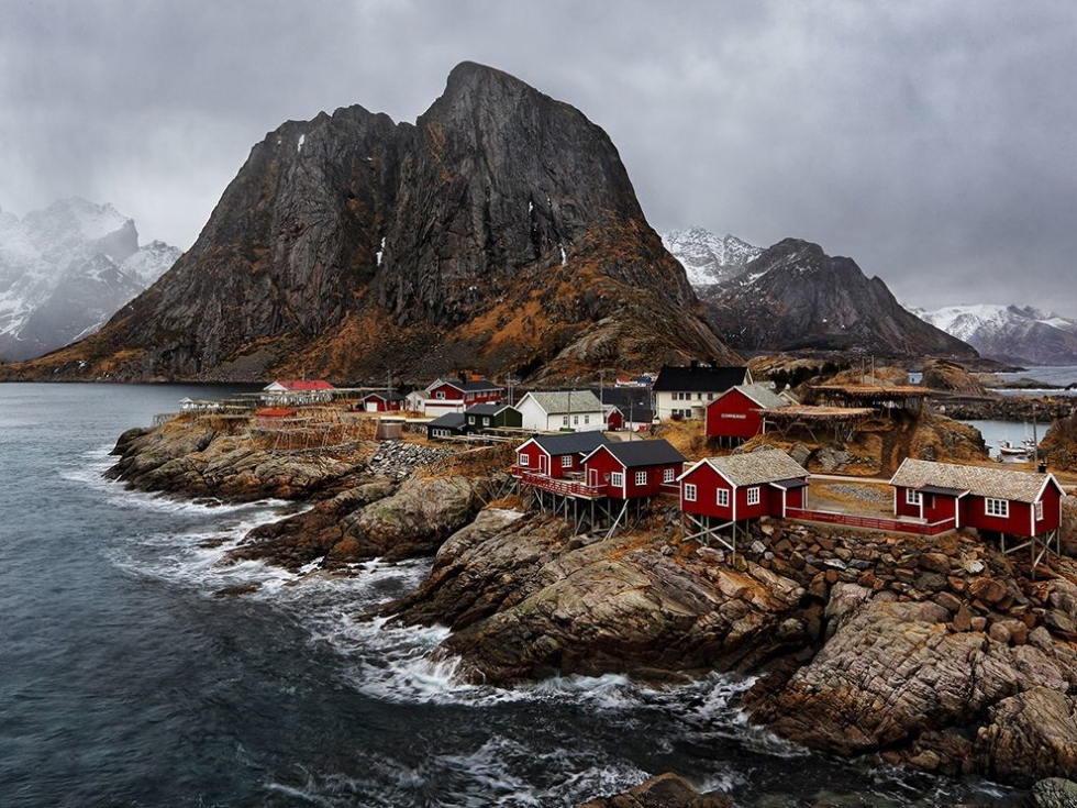 Hamn y the oldest and most picturesque fishing village for Fishing in norway