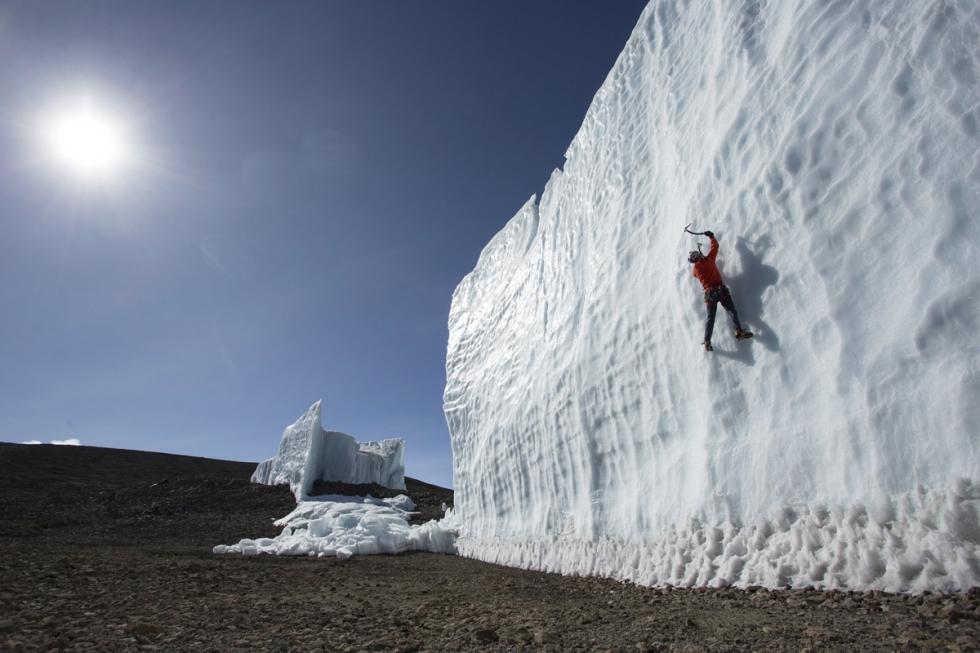 Climbing Kilimanjaro Glaciers in Tanzania