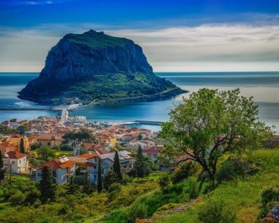 Monemvasia – a Historic City on a Rocky Island in Greece
