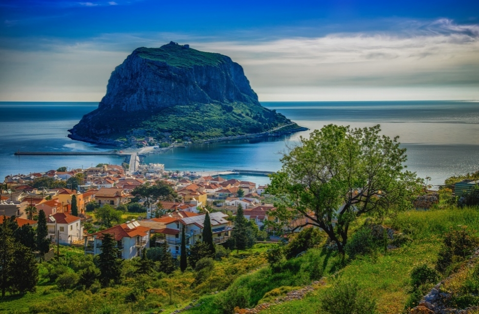 Monemvasia Greece  City new picture : Monemvasia – a Historic City on a Rocky Island in Greece | Places To ...