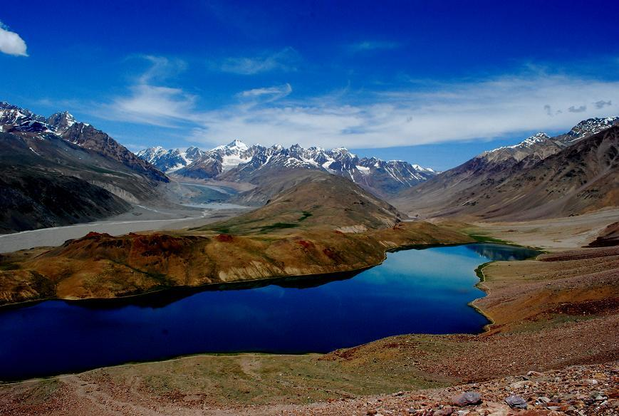 Chandra Taal – Lake of the Moon in the Himalayas, India