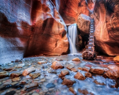 Kanarra Creek – a Picturesque Small Canyon in Zion, USA