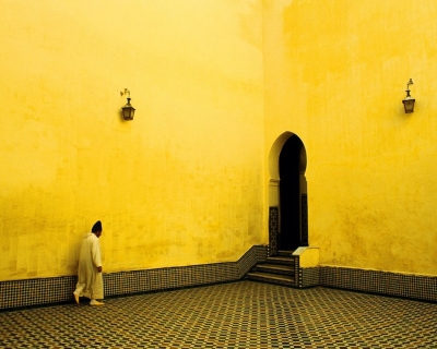 The Opulent Mausoleum of Moulay Ismail in Morocco