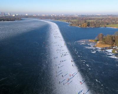 Paterswoldse Meer – the Best Skating Rink in the Netherlands