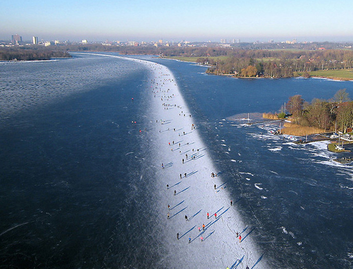 Paterswoldse Meer – the Best Skating Rink in the Netherlands