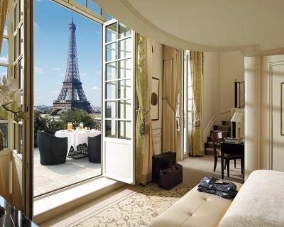 Sumptuous Napoleonic Shangri-La Hotel in Paris, France