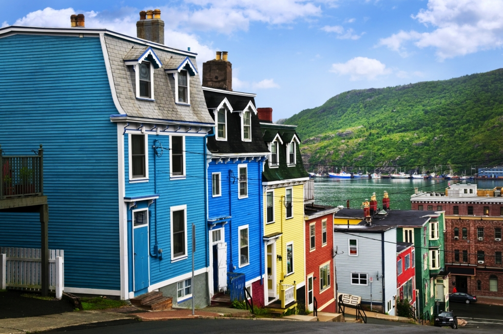 St. John's – the Most Colorful City in Canada