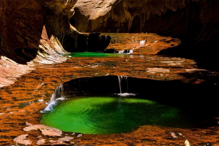 Top 10 Zion-Emerald Pools2