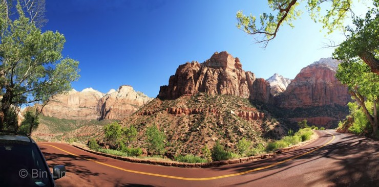 Top 10 Zion-Highway-Photo by Bin Lin
