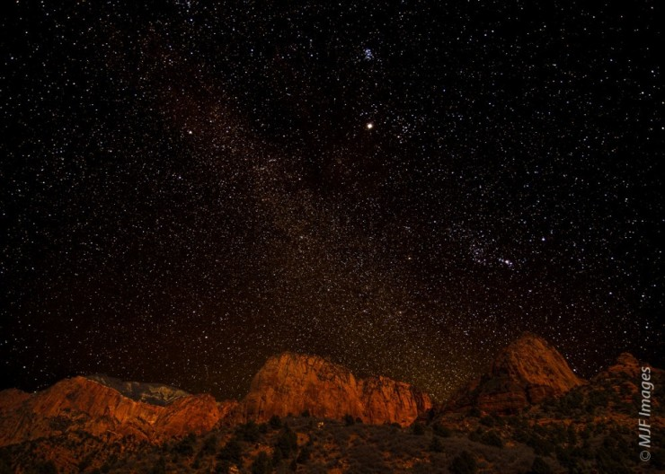 Top 10 Zion-Stargazing-Photo by MJF Images