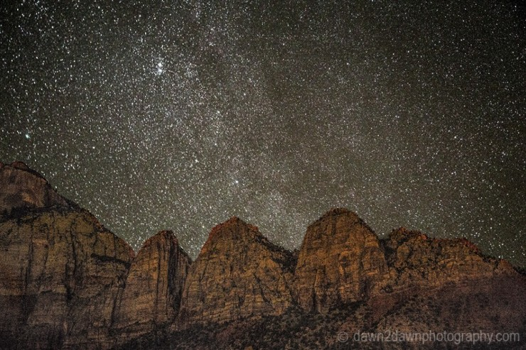 Top 10 Zion-Stargazing-Photo by dawn2dawn photography