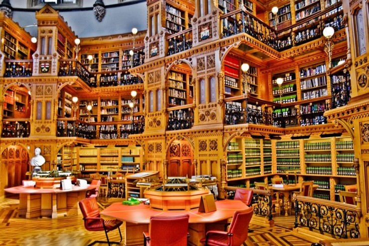 Top Libraries-Canadian Library of Parliament