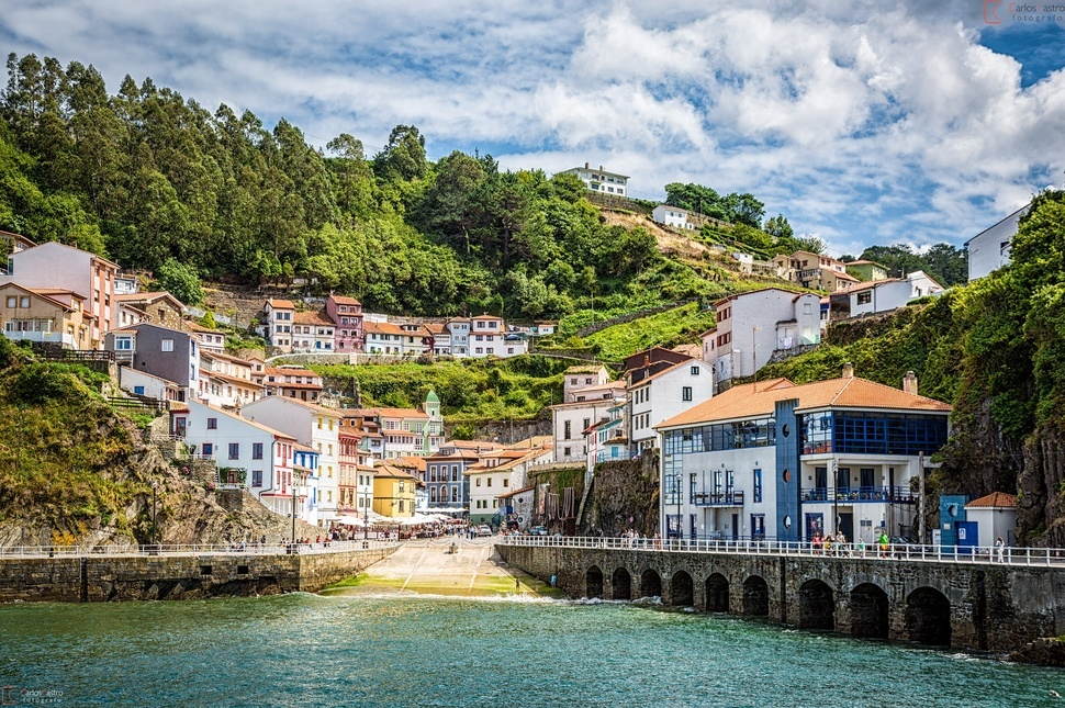 Cudillero – a Lovely Village Established by the Vikings in Asturias, Spain
